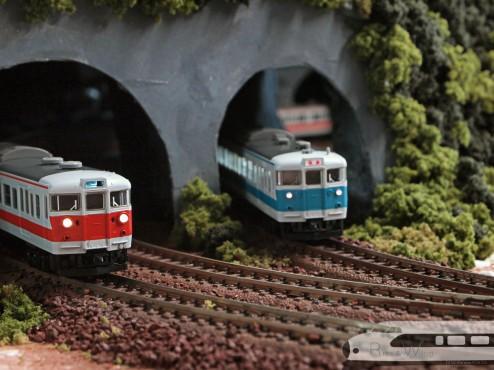 Tomix 国鉄113-0系近郊電車(冷改車・関西線快速色)