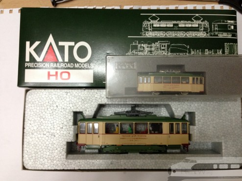 Kato 広島電鉄200形ハノーバー電車 室內燈