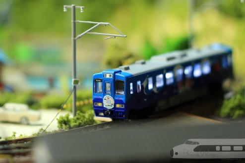 Tomix 北三陸鉄道36形(お座敷車両) 室內燈