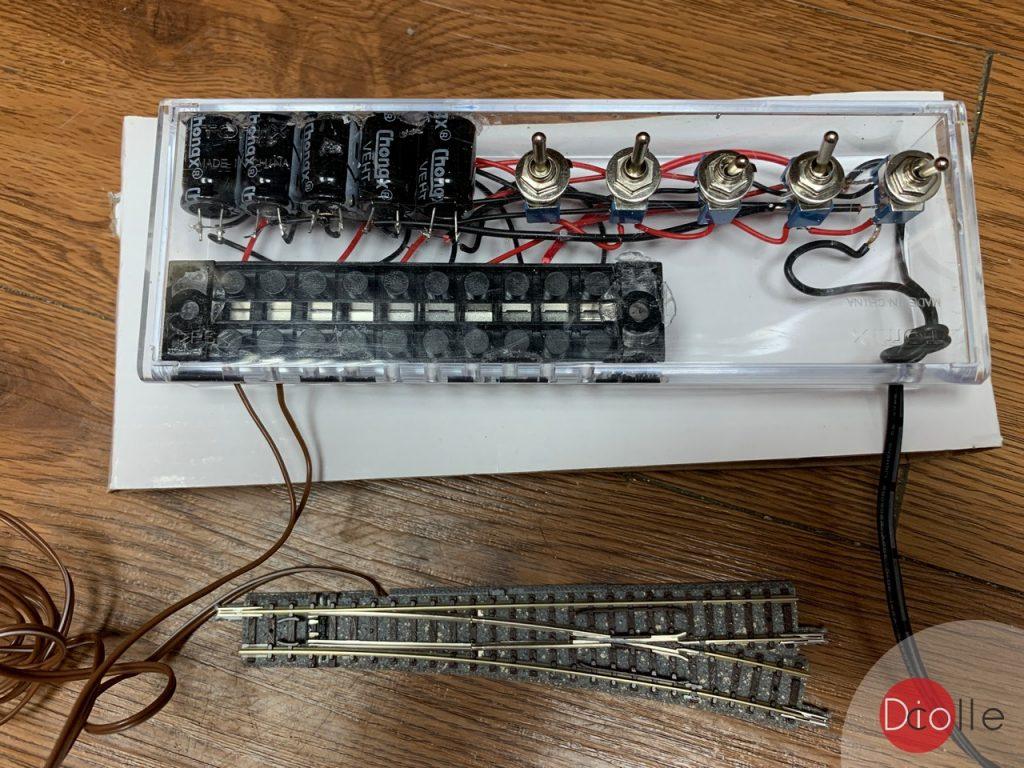 DIY 波口/道岔控制器
