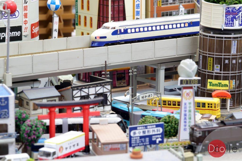 MicroAce 国鉄 新幹線0系 0/1000番台 お召列車(青帯入) 室內燈
