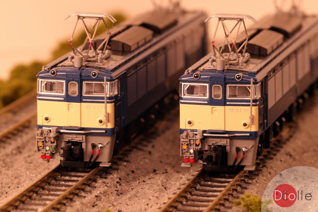Tomix JR EF63形 電気機関車 (2次形・青色)